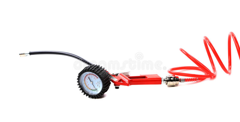 Manometer. Instrument for the measurement of pressure and vacuum royalty free stock image