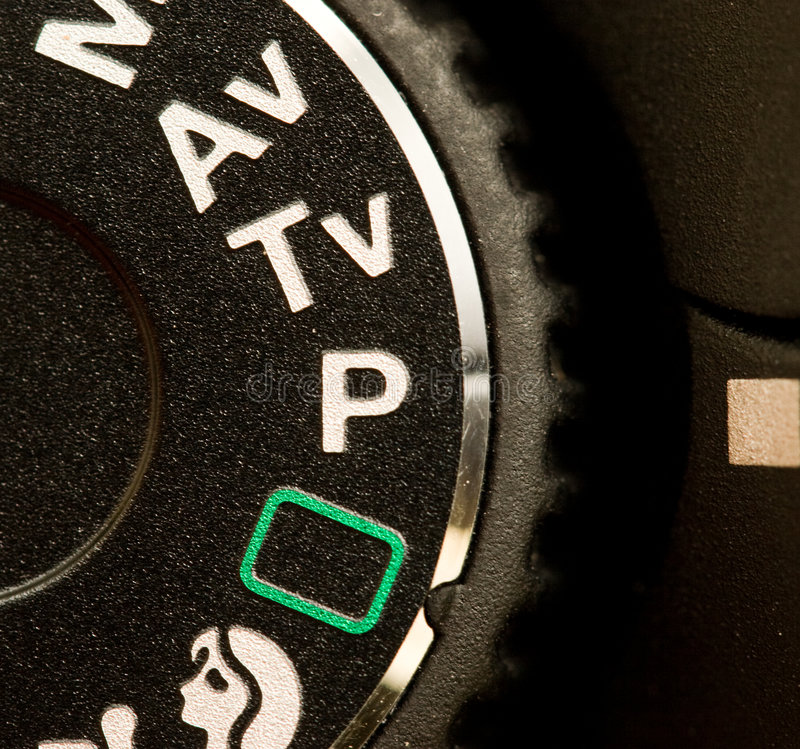 Manopola di modo della macchina fotografica fotografie stock