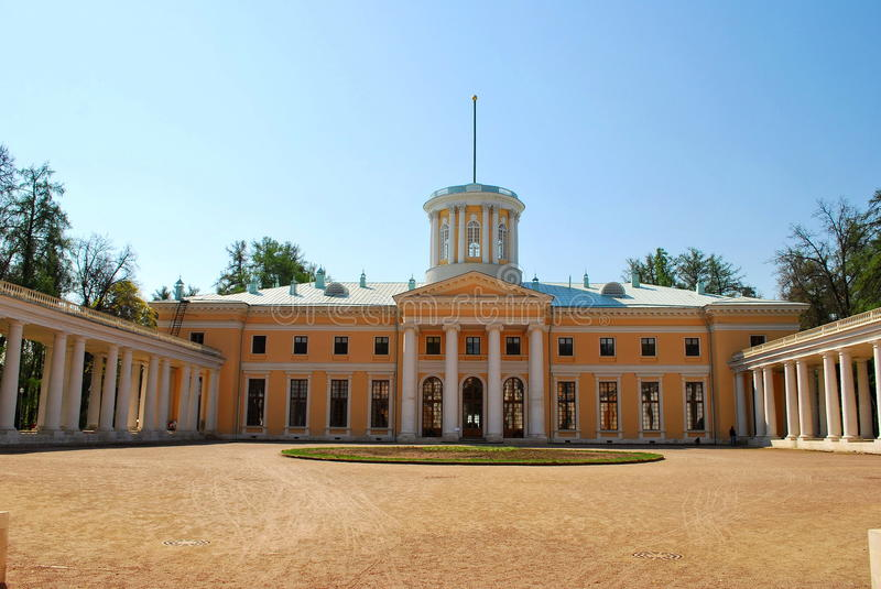 Manor Arkhangelskое. stock photo