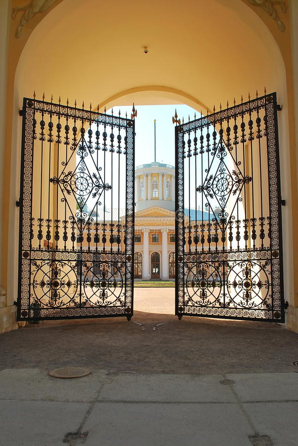 Manor Arkhangelskое. royalty free stock photography