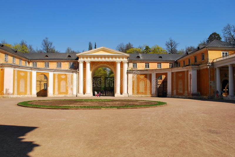 Manor Arkhangelskое. royalty free stock images