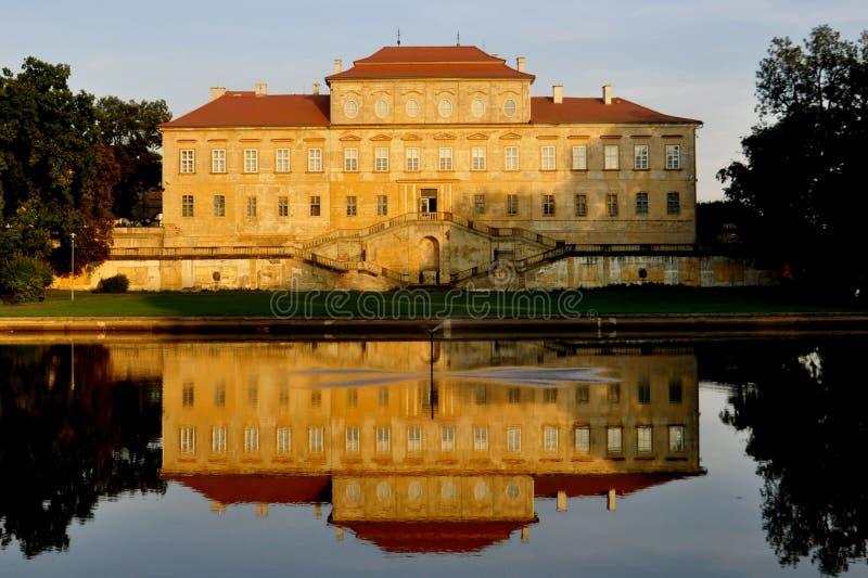 Manor Duchcov stock afbeeldingen