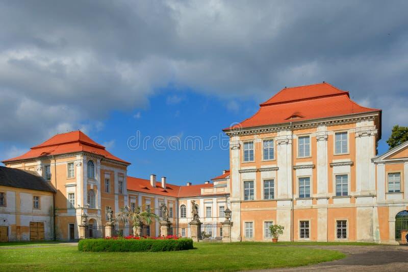 Manor Duchcov stock foto