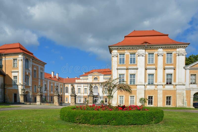 Manor Duchcov royalty-vrije stock fotografie