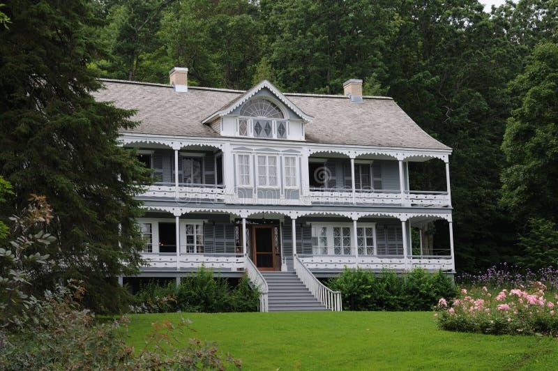 Manor en Tuin stock afbeelding
