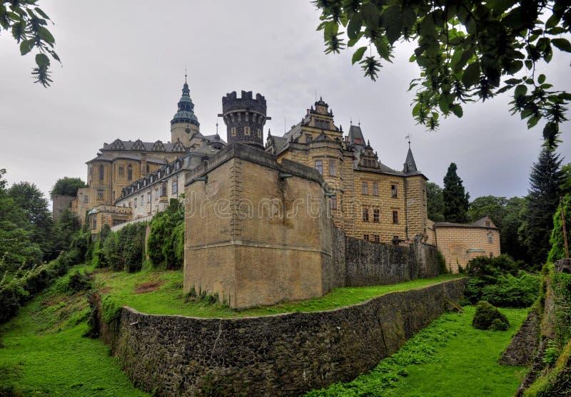 Manor hause Frydlant. Czech Republic royalty free stock image