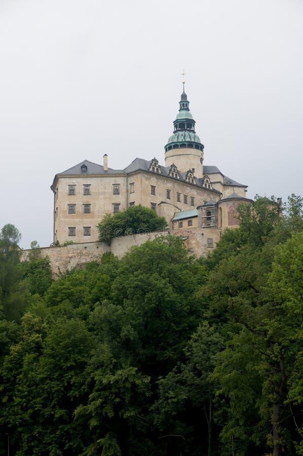 Manor hause Frydlant. Czech Republic stock photo