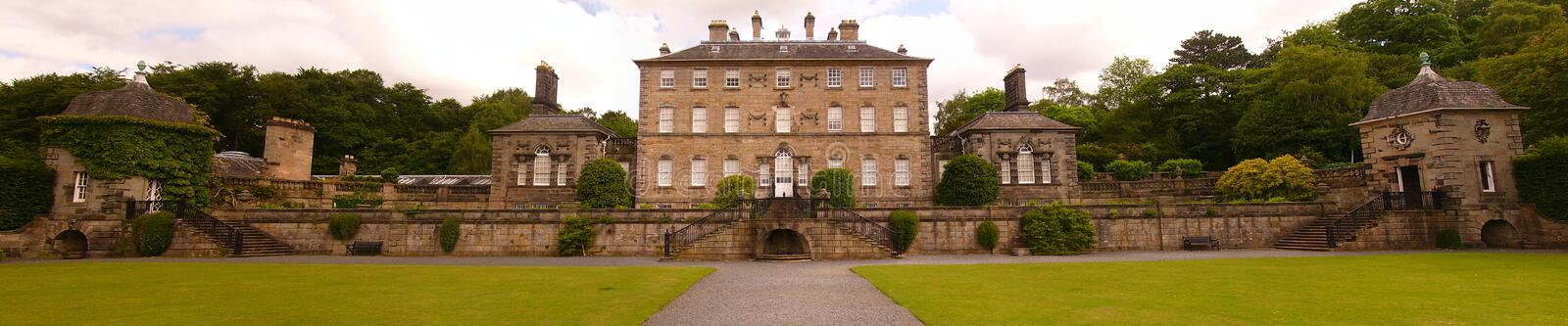 Manor House. In a park in Glasgow, Scotland royalty free stock photos