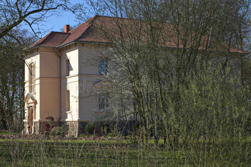 Download Manor House Listed As Monument In Klein Zastrow, Germany Stock Photo - Image of image, historic: 92175104