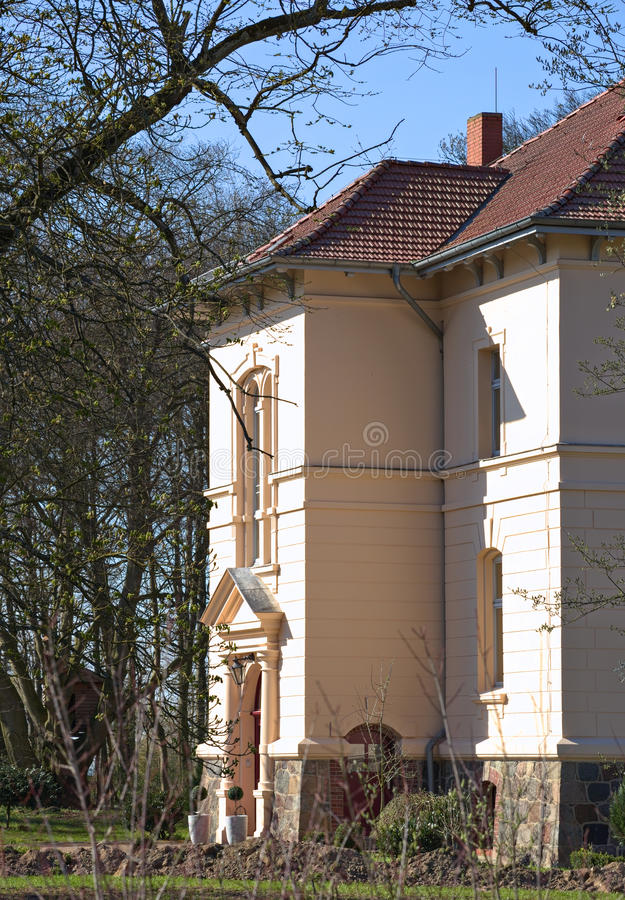 Download Manor House Listed As Monument In Klein Zastrow, Germany Stock Photo - Image of monument, outdoors: 92175420