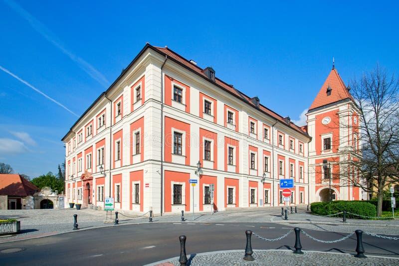 Manor house - Ostrov nad Ohri. Czech Republic stock photo