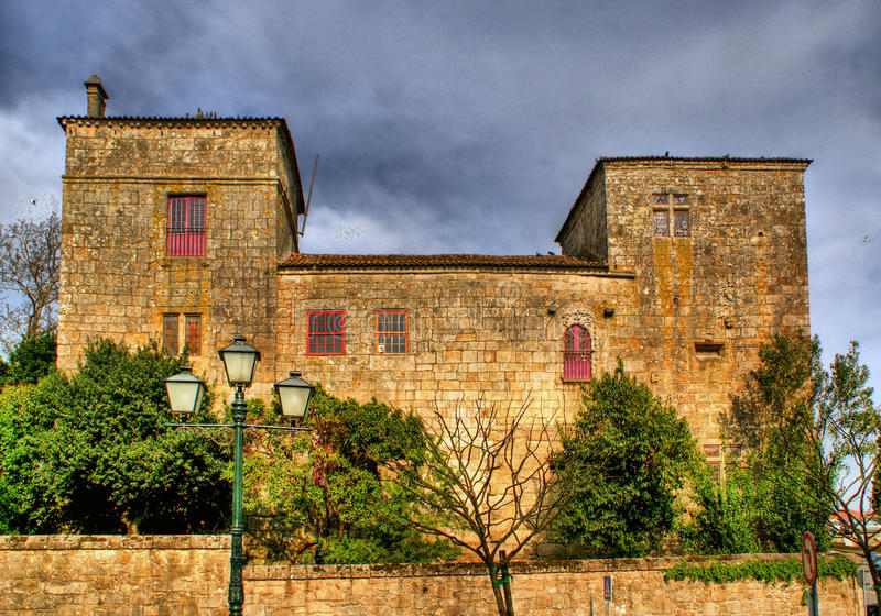 Download Manor House Of Pinheiros In Barcelos Stock Image - Image: 58758547