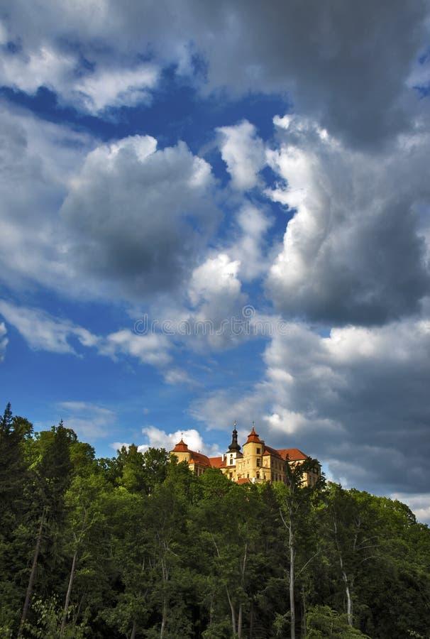 Manor Jezeri royalty-vrije stock foto's