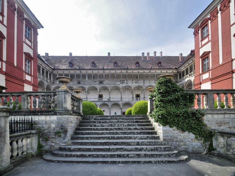 Manor Opocno royalty-vrije stock foto's