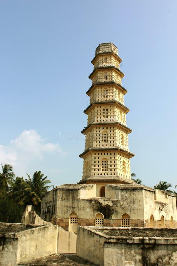 Manora fortu wierza z battlement zdjęcia royalty free