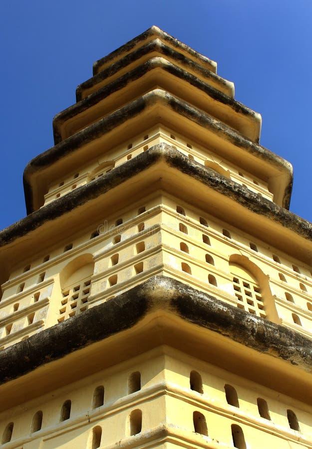 Manora fortu wierza z okno obraz royalty free