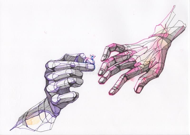 Manos libre illustration