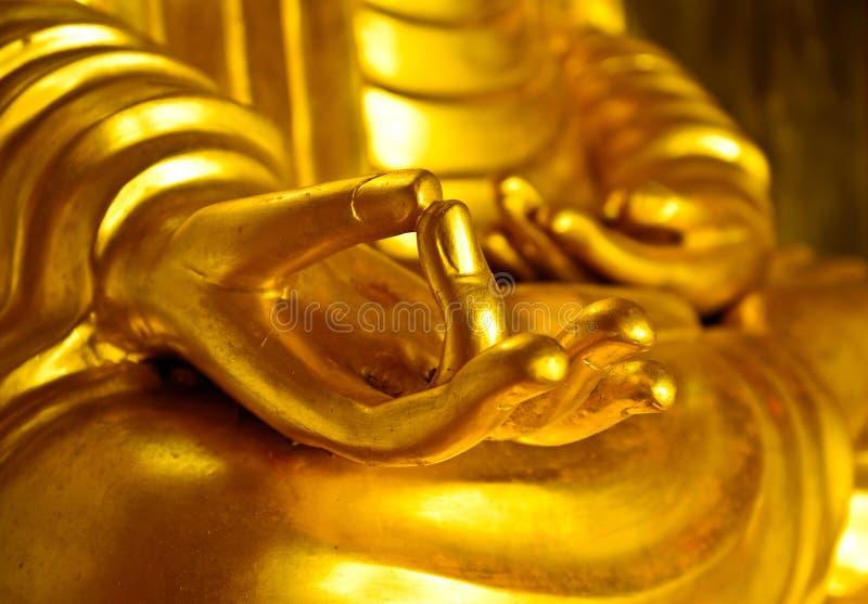 Manos de Buda imagenes de archivo