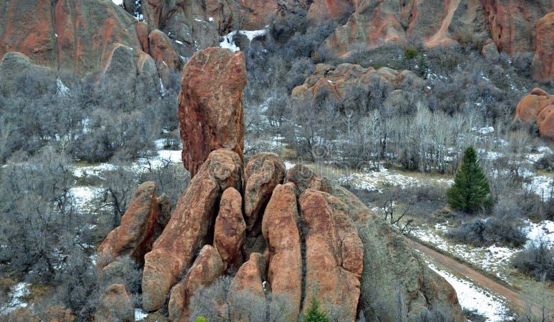 Manos de la roca foto de archivo libre de regalías