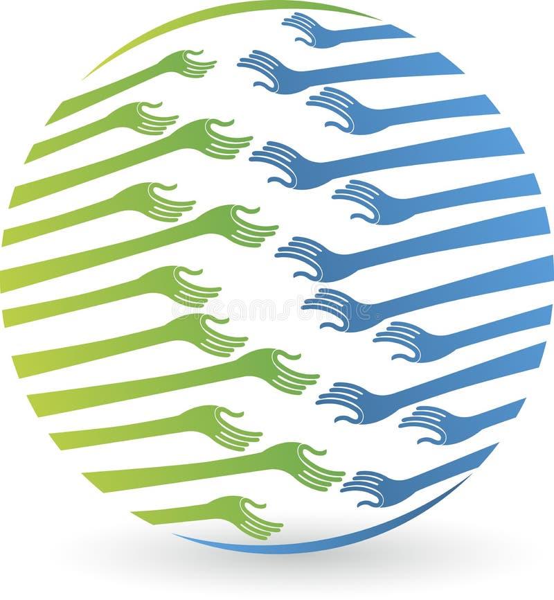 Manos del globo libre illustration