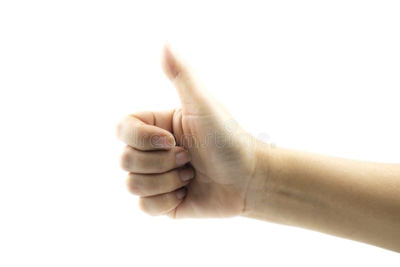 Manos que muestran gestos imagenes de archivo