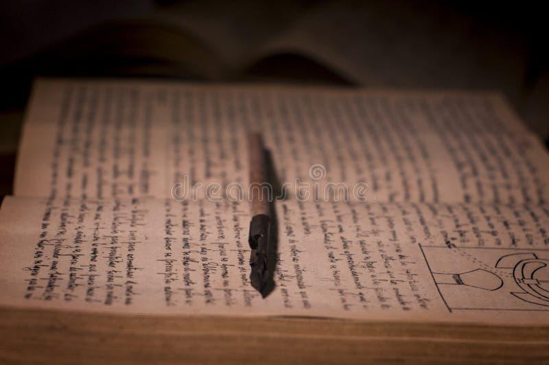 Manoscritti antichi immagine stock libera da diritti