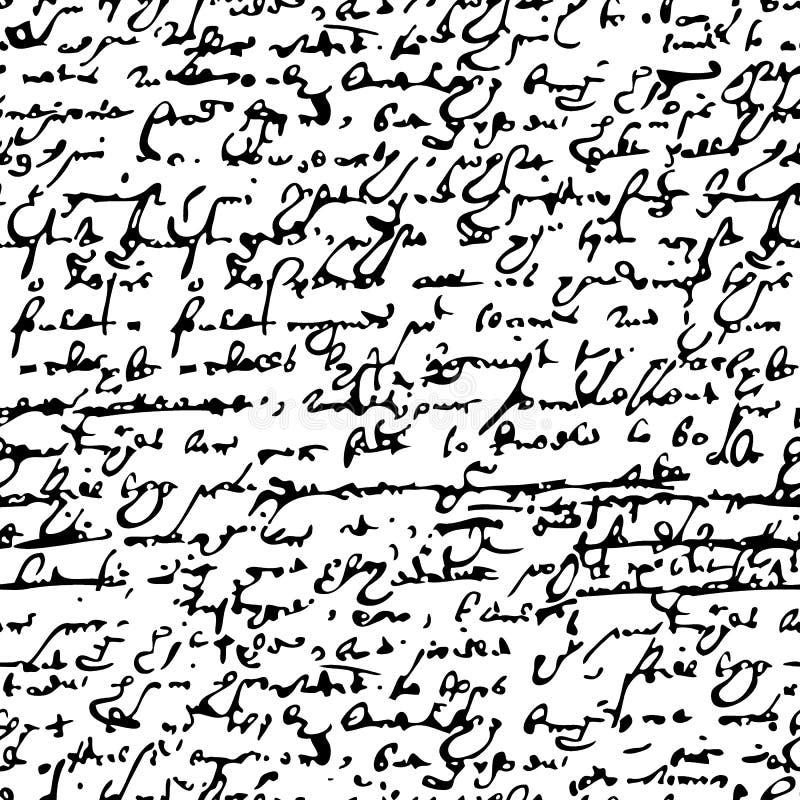 Manoscritto dello Shakespeare royalty illustrazione gratis
