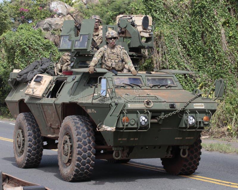 Manovre militari fotografie stock
