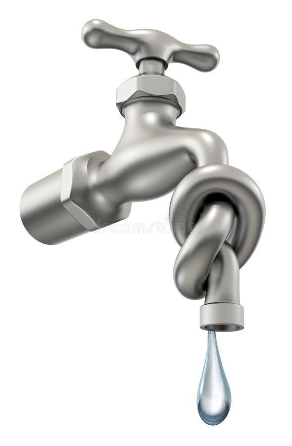 Manque d'eau illustration libre de droits