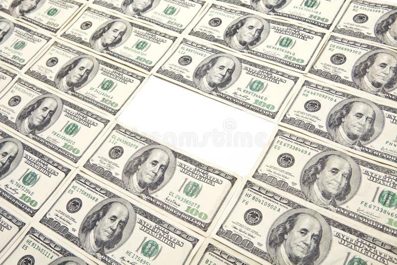 Manquer 100 billet d'un dollar photographie stock