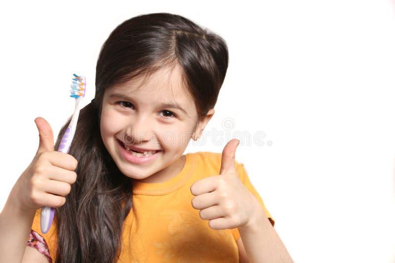 Manquer deux dents avant photo libre de droits