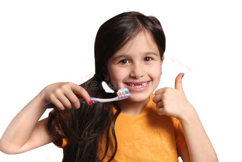 Manquer deux dents avant photo stock