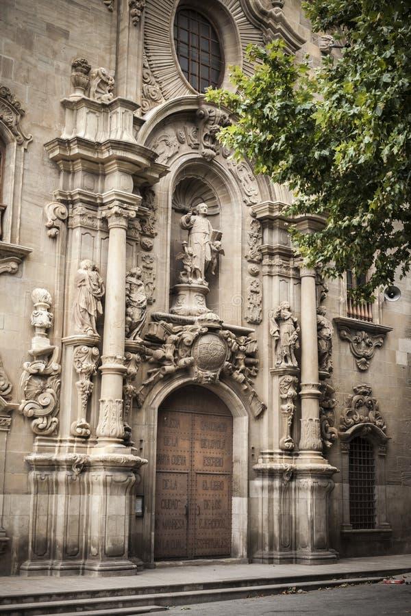 Manresa, Καταλωνία, Ισπανία στοκ εικόνα με δικαίωμα ελεύθερης χρήσης