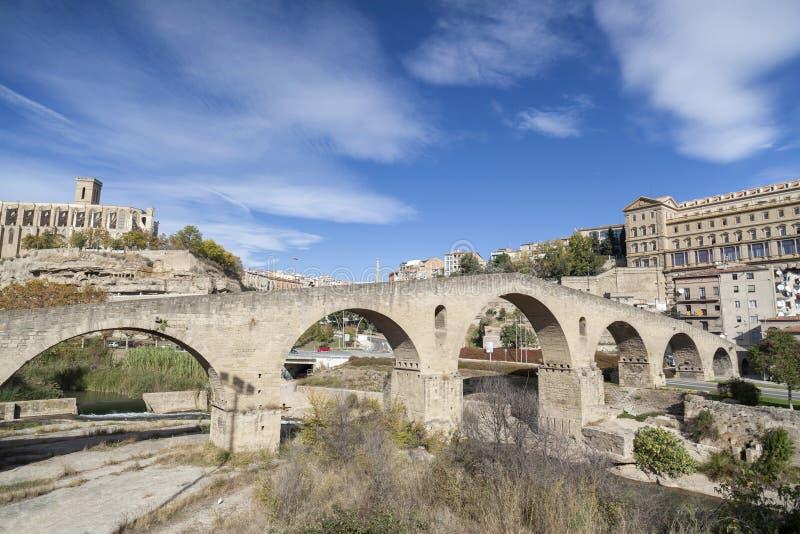 Manresa, Catalonia, Espanha fotos de stock royalty free