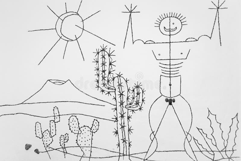 Download Manrique's Art In Jardin De Cactus Editorial Stock Image - Image of bathroom, island: 17705239