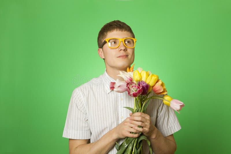 Download Manromantiker fotografering för bildbyråer. Bild av gåva - 19794257