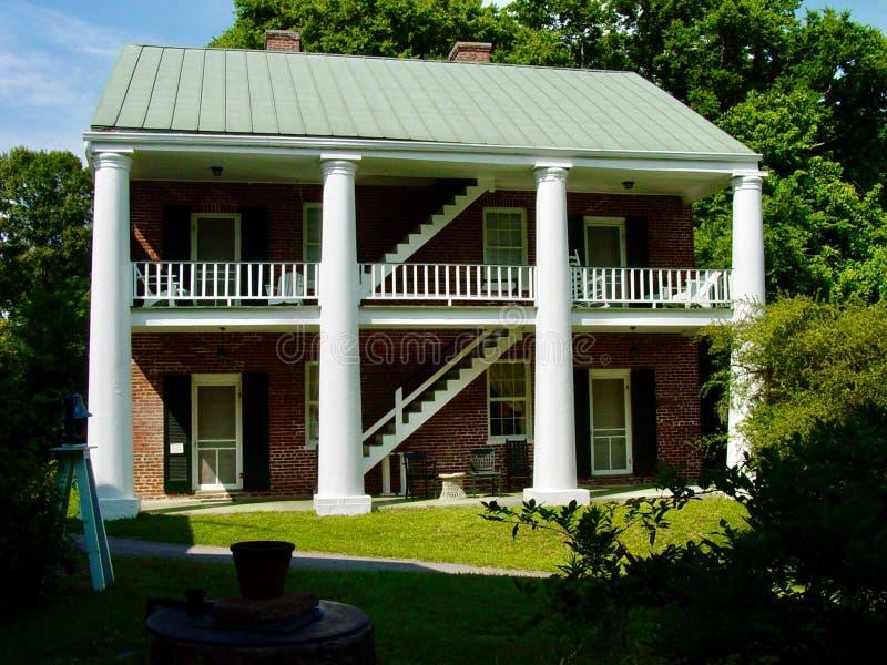 Mansão Antebellum de Mississippi imagem de stock royalty free