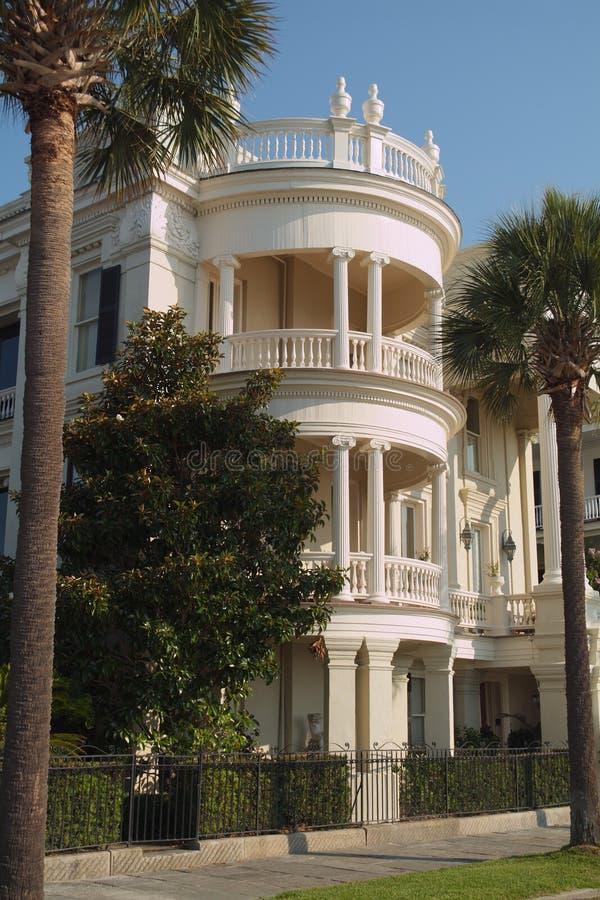 Mansão de Charleston imagem de stock