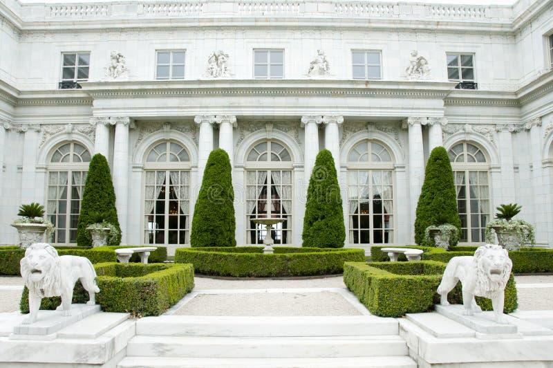 Mansão de Rosecliff - Newport - Rhode Island imagens de stock royalty free