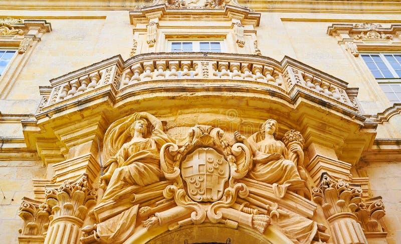 A mansão do ld em Rabat, Malta fotos de stock