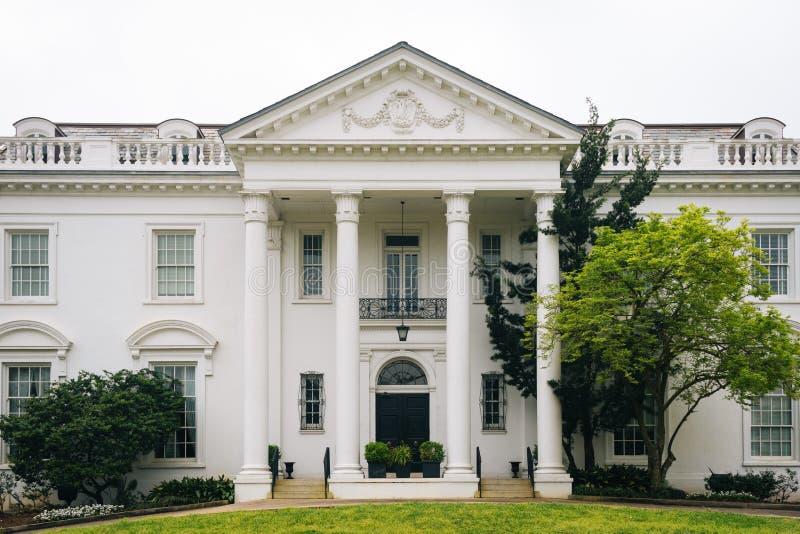 A mansão do regulador velho, em Baton Rouge, Louisiana imagens de stock royalty free