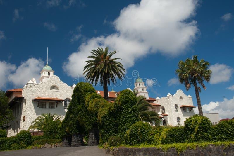 Mansão em Auckland imagem de stock