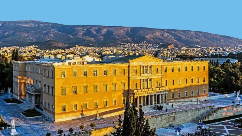 A mansão presidencial fotografia de stock