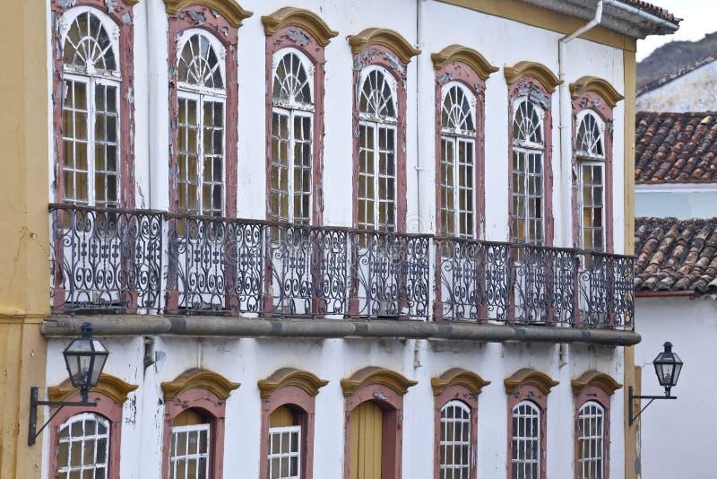 Mansão velha da arquitetura barroco fotos de stock royalty free