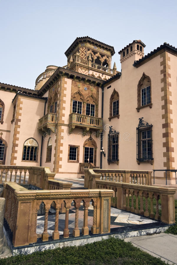 Mansão Venetian em Sarasota imagens de stock royalty free