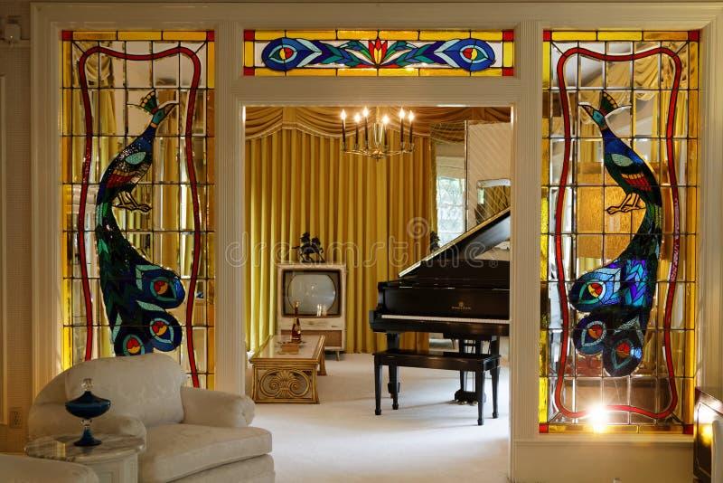 Mansões de Graceland foto de stock royalty free
