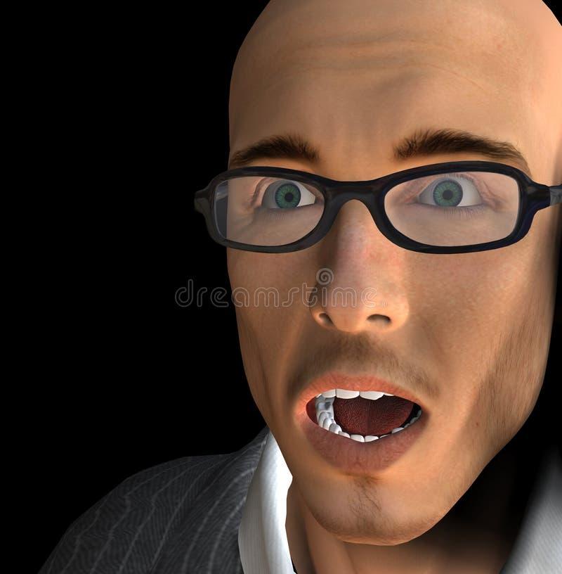 Download Mans Face 19 stock illustration. Illustration of person - 1030962