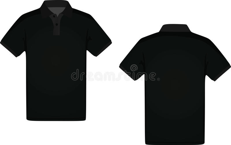 Mans polo t-shirt vector illustration