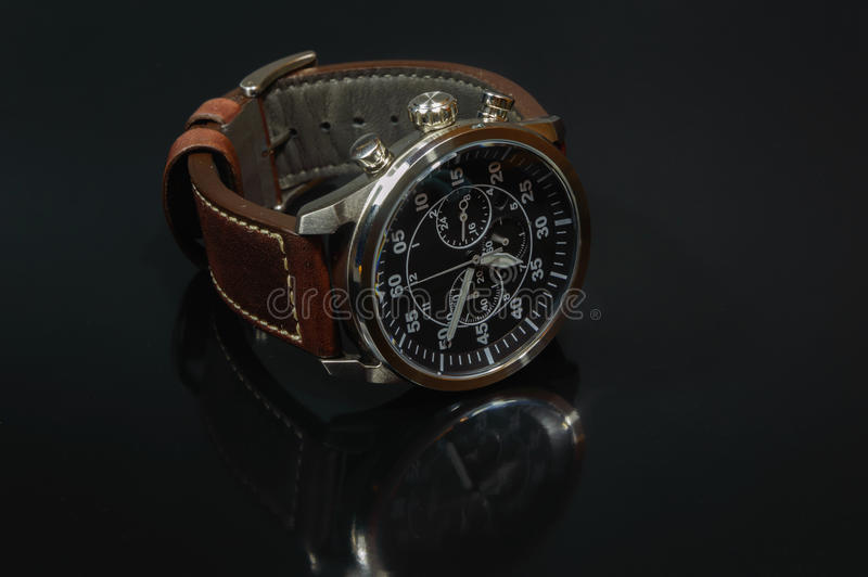 Mans Watch royalty free stock images