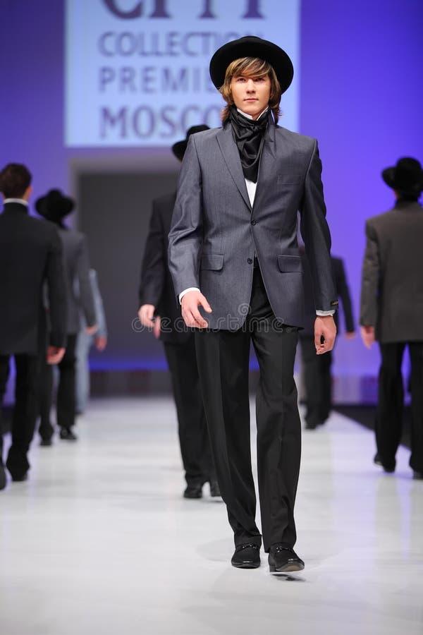 Download Mans Wear Suits From Slava Zaytzev Walk Catwalk Editorial Image - Image: 20697715